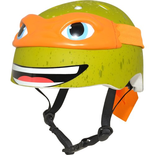 Nickelodeon Teenage Mutant Ninja Turtles Michelangelo 3D Bike Helmet, Child