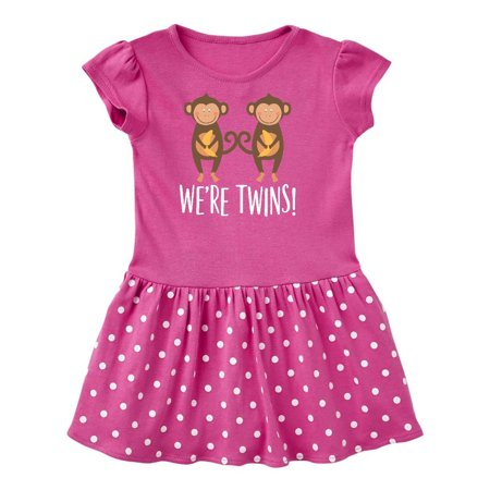 Monkey Twins Boy Girl Gift Idea Toddler Dress](Toga Dress Ideas)