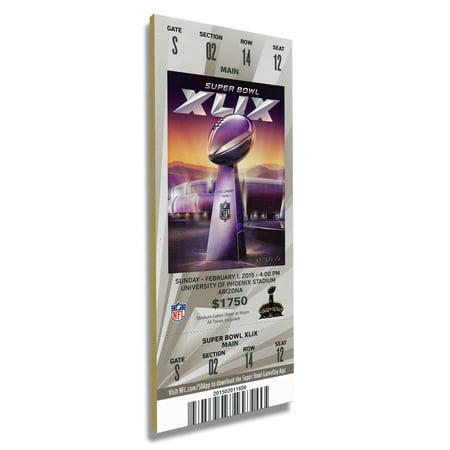 Baltimore Ravens Super Bowl XLVII Commemorative Mini-Mega Ticket - No Size ()