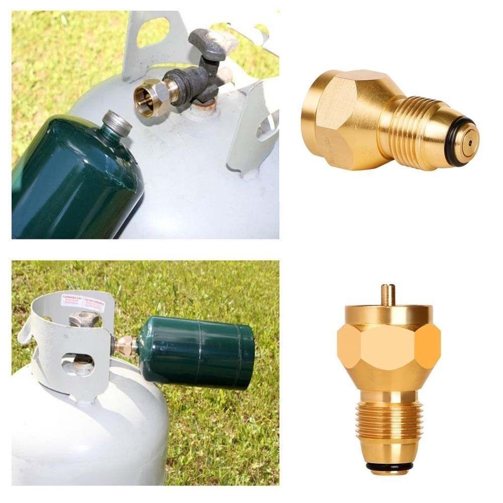 Propane Refill Adapter Lp Gas Fits 1 Lb Cylinder Tank Coupler Heater Attachment