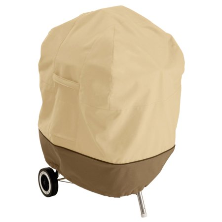 Classic Accessories Veranda™ Patio Kettle BBQ Grill Cover - Durable BBQ Cover with Heavy-Duty Weather Resistant Fabric, 26.5