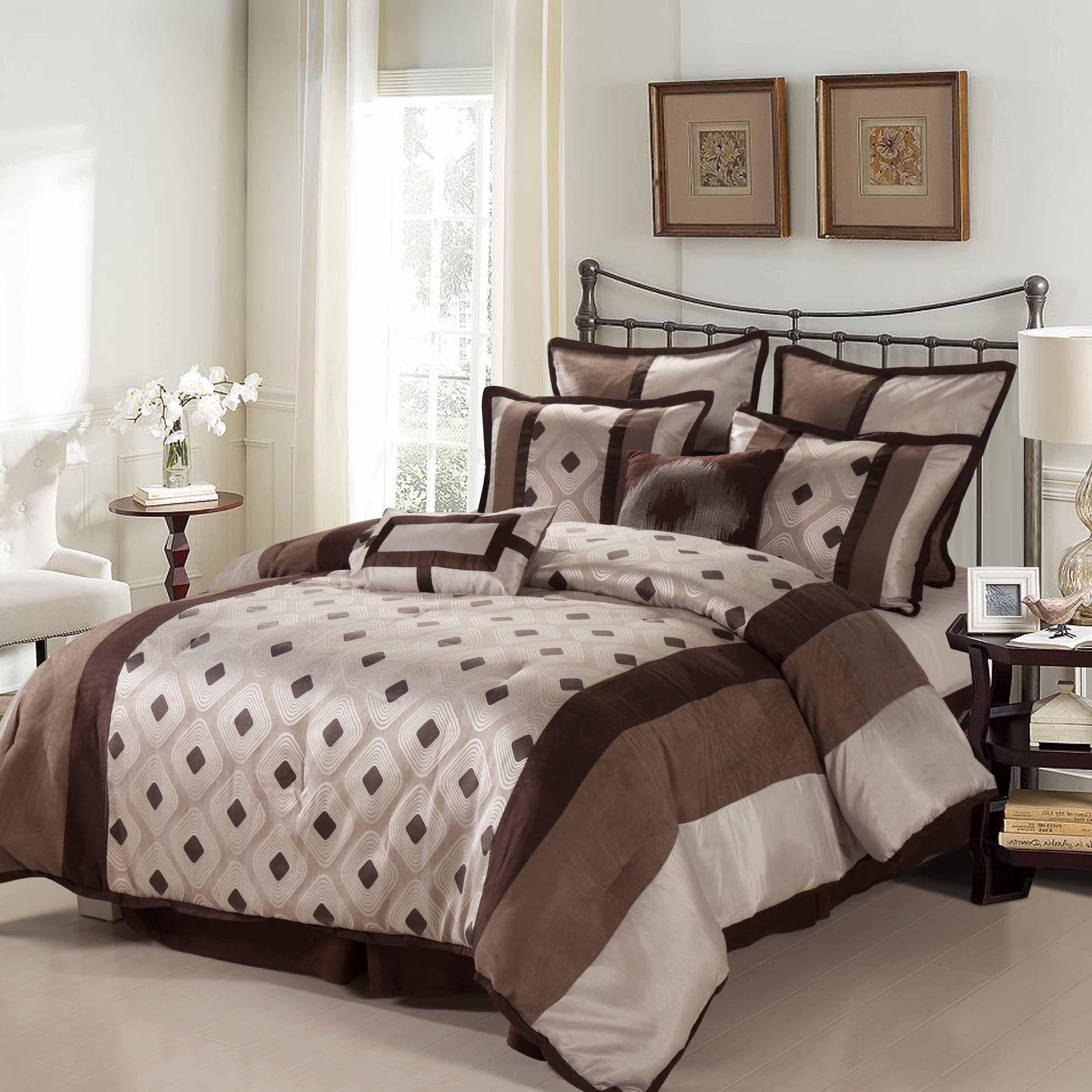 Nanshing Grayson 8-Piece Reversible Comforter Set