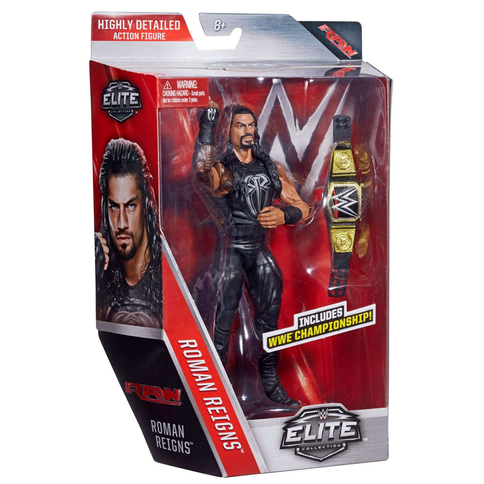 Wwe Elite Roman Reigns Figure Walmart Com