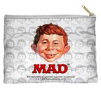 Mad Alfred Head Accessory Pouch White 8.5X6