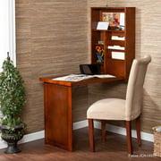 Leo Fold-Out Convertible Desk-Walnut