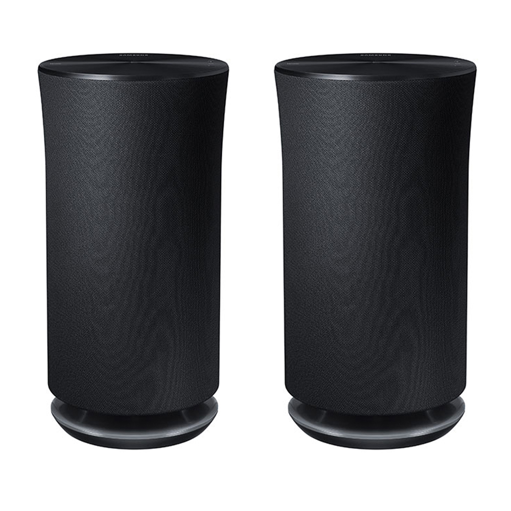 Samsung 2-Pack Radiant 360 R5 Wi-Fi Bluetooth Wireless Multi-Room 2-Way Streaming Speakers by Samsung