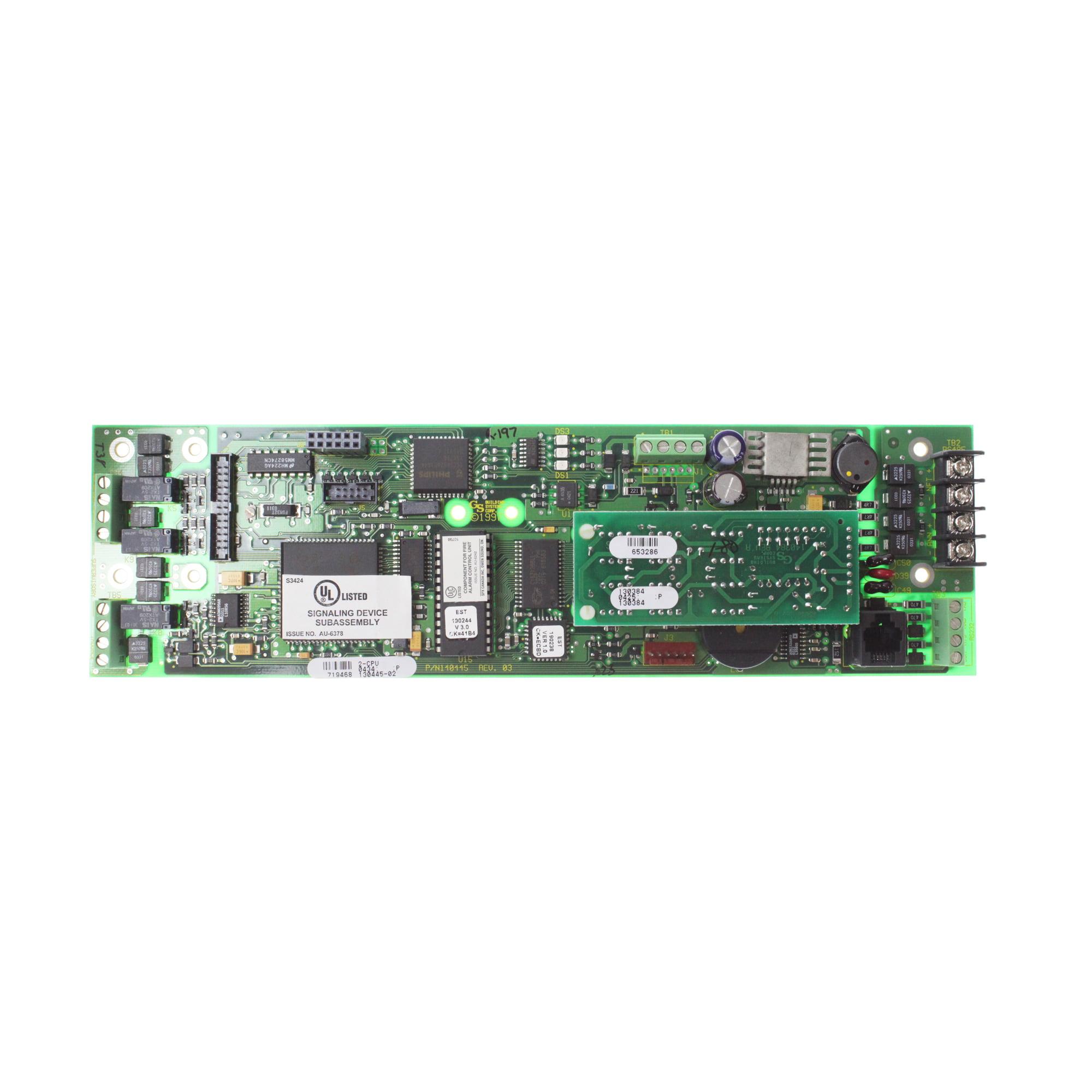 EST 2-CPU 387469 Central Processor Unit FACP CPU Module, System 2 by Edwards System Technologies %28EST%29