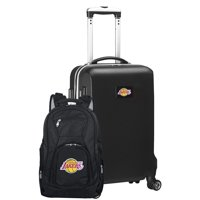 Los Angeles Lakers Deluxe 2-Piece Backpack and Carry-On Set - Black - No Size