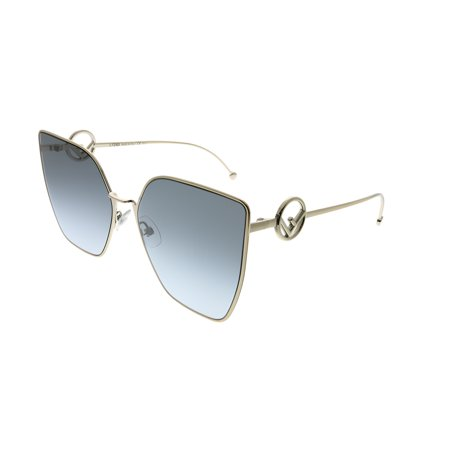 Fendi F Is Fendi FF 0323 3YG GB Womens Cat-Eye Sunglasses