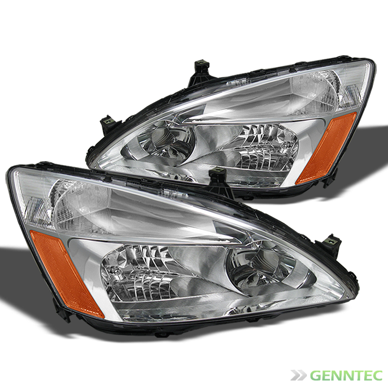 pair Fits 03-07  Accord Left /& Right Headlamp Assemblies