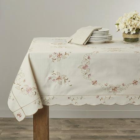 Renaissance Embroidered Design Tablecloths