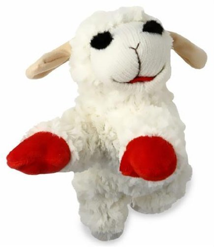 """Multipet Lamb Chop 10"""" (Pack of 3)"""