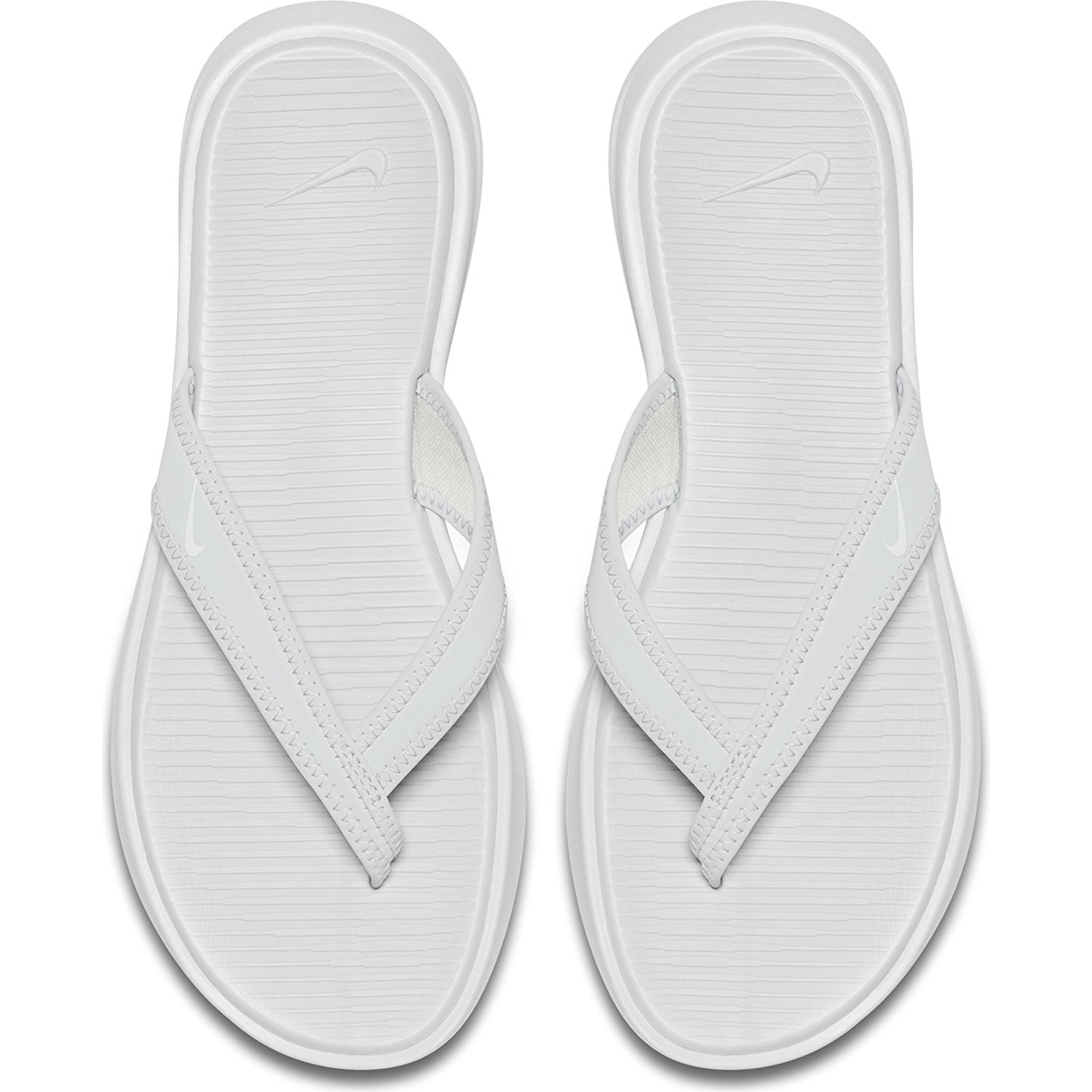 Nike Women's Celso Thong Sandals Pure Platinum/White