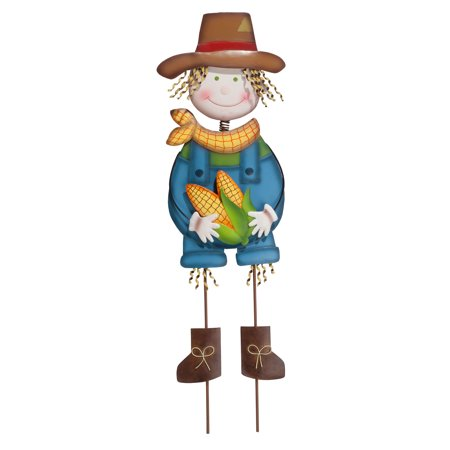 Scarecrow Boy Yard Stake by Maple Lane Creations