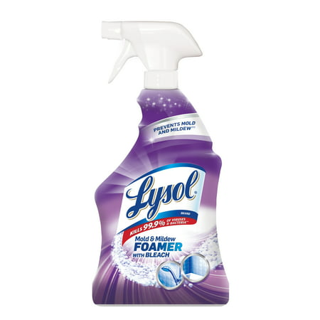 Lysol Mold & Mildew Blaster w. Bleach, Bathroom Cleaner Spray, 28oz