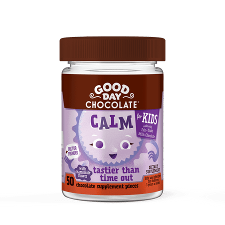 Good Day Chocolate Kids Calm Supplement, 50 ct
