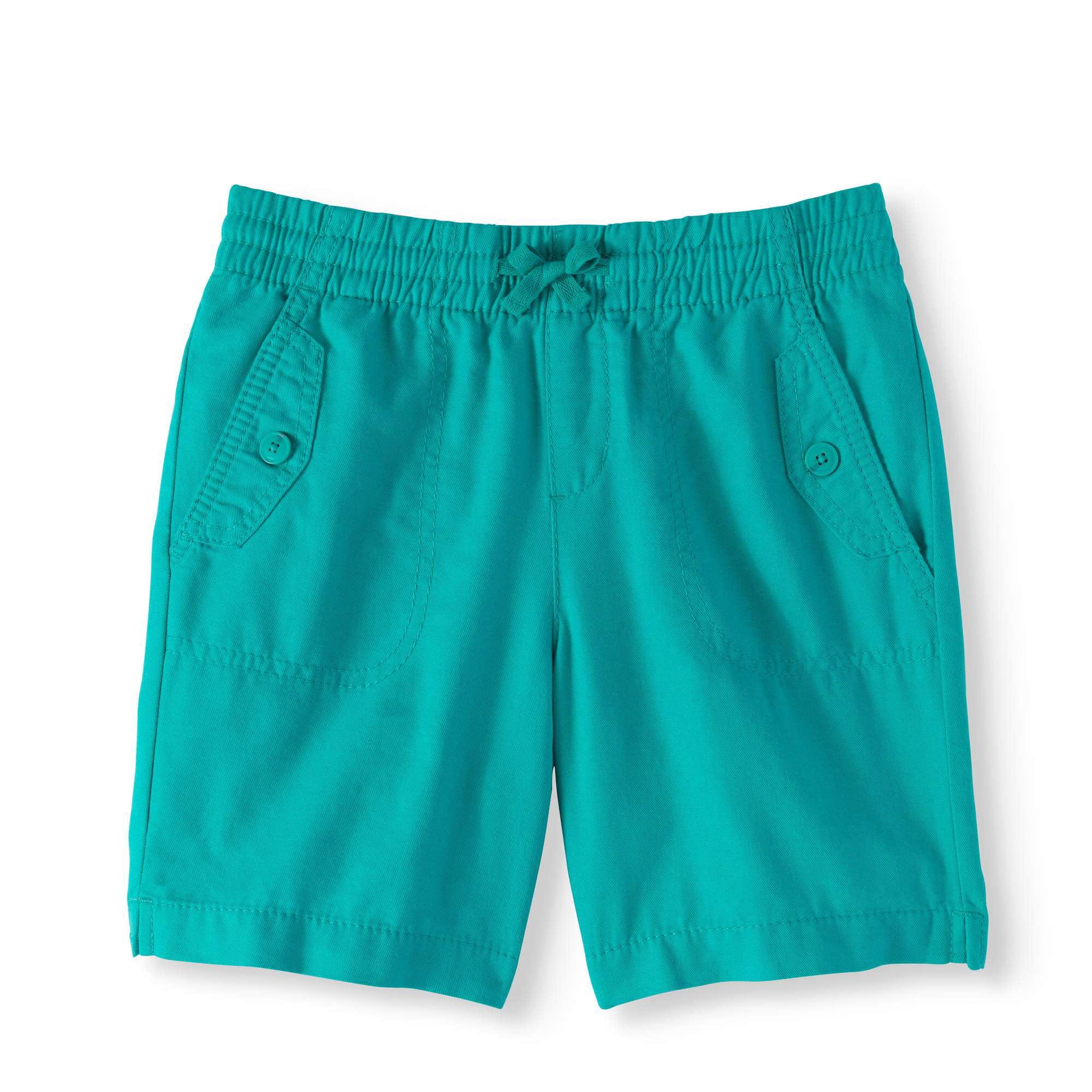 Navy Size 4 Wonder Nation Girls Cotton Bermuda Shorts