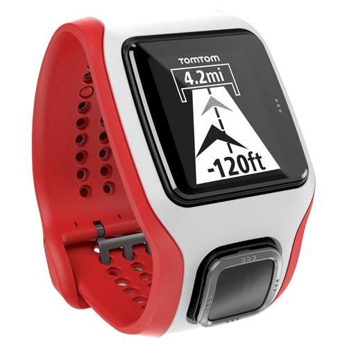 TomTom Multi-Sport Cardio White   Red GPS Enabled Sports Watch by TomTom
