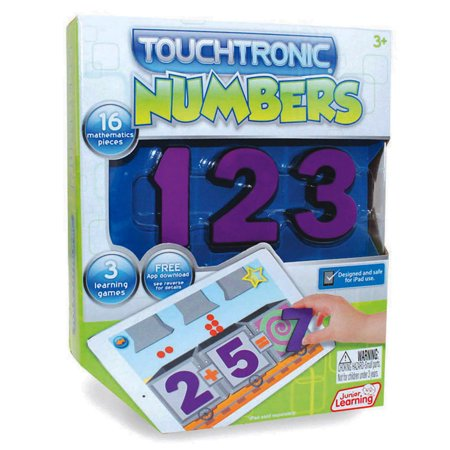 Junior Learning Touchtronic Numbers, Award Winning Interactive Learning Toy for - Learning Toys