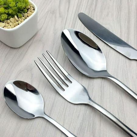 Cutlery , Home Use Stainless Steel Western Tableware, 4-Piece Dinnerware Set knife fork spoon teaspoon