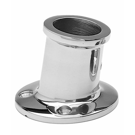 Taylor Stainless Steel Top Mount Flag Pole Socket for 1-1/4