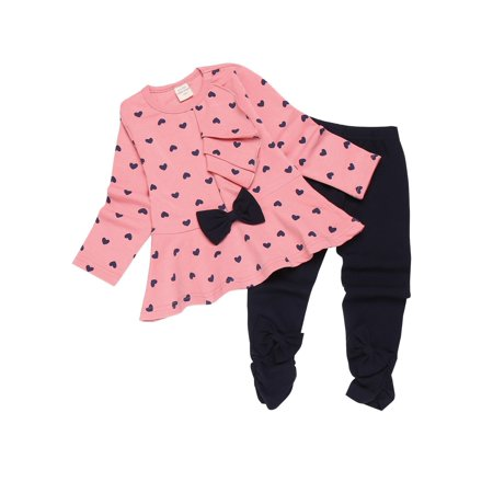 Clearance! Cute Toddler Baby Girls Fall Clothing 2pcs Outfits Adorable Tops and Pants - Diy Cute Outfits