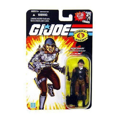 GI Joe 25th Anniversary Mercenary Major Bludd Hasbro 3.75 Inch Figure