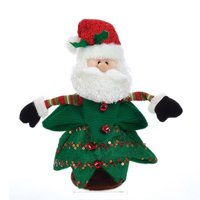 Battery Operated Singing and Turning Santa in Christmas Tree Decoration