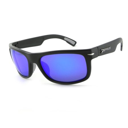 Peppers Eyewear Palisades In Matte Black/Smoke Polarized Sunglasses](Breast Cancer Sunglasses)