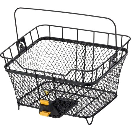 Topeak Bike Basket - Topeak MTX Bicycle Rear Basket: Black