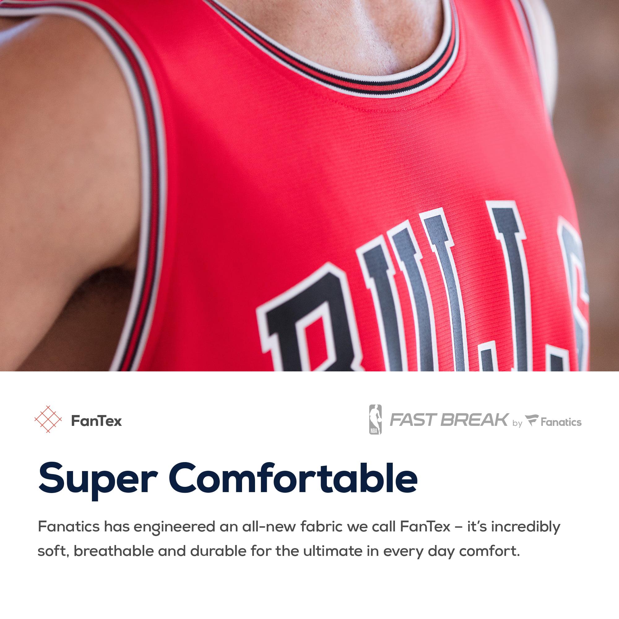 4a6721cb036d Wendell Carter Jr. Chicago Bulls Fanatics Branded Fast Break Replica Jersey  - Icon Edition - Red - Walmart.com