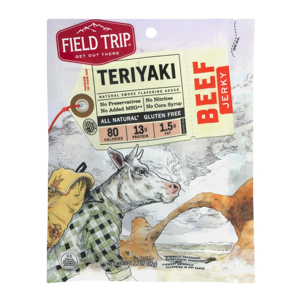 Field Trip Teriyaki Beef Jerky, 2.2 OZ by Provisionaire & Co.