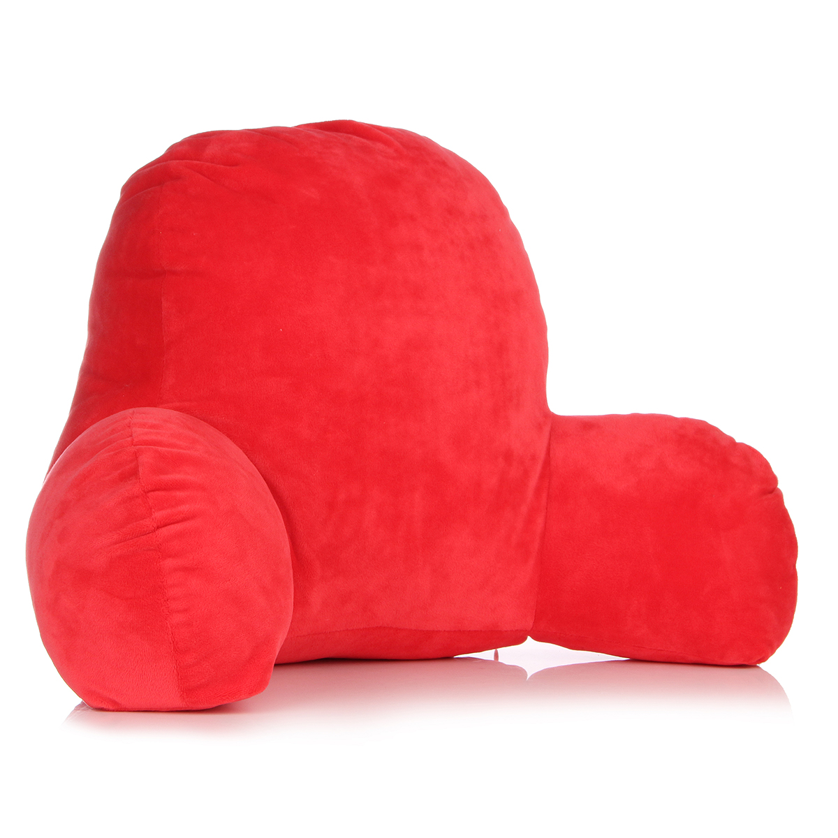 3 Colors Micro Reading and Bedrest Lounger Watching TV Sitting Back Supprt Pillow with Waist pillow Arms Soft But Firmly Stuffed Cotton Fill