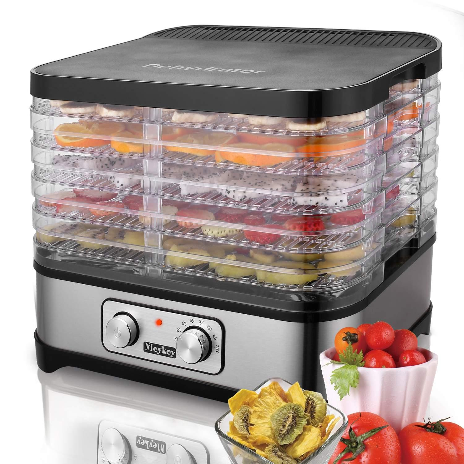 Was $225.96  Now $52.99 – Food Dehydrator Machine Professional Electric Multi-Tier Food Preserver