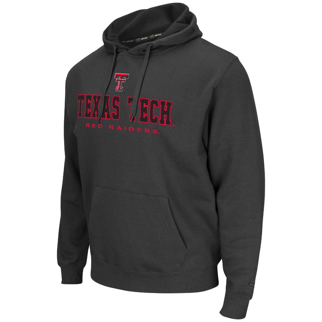 Texas Tech Red Raiders NCAA Zone II Pullover Hooded Men's Sweatshirt - Charcoal