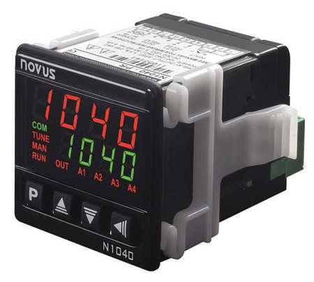 NOVUS N1040 Temperature Controller,1/16 DIN