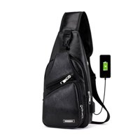 Backpack Crossbody Travel Bag for Nintendo Switch Console Joy-cons and Nintendo Switch Lite Accessories, Charge Your Phone Via Side USB Charging Interface