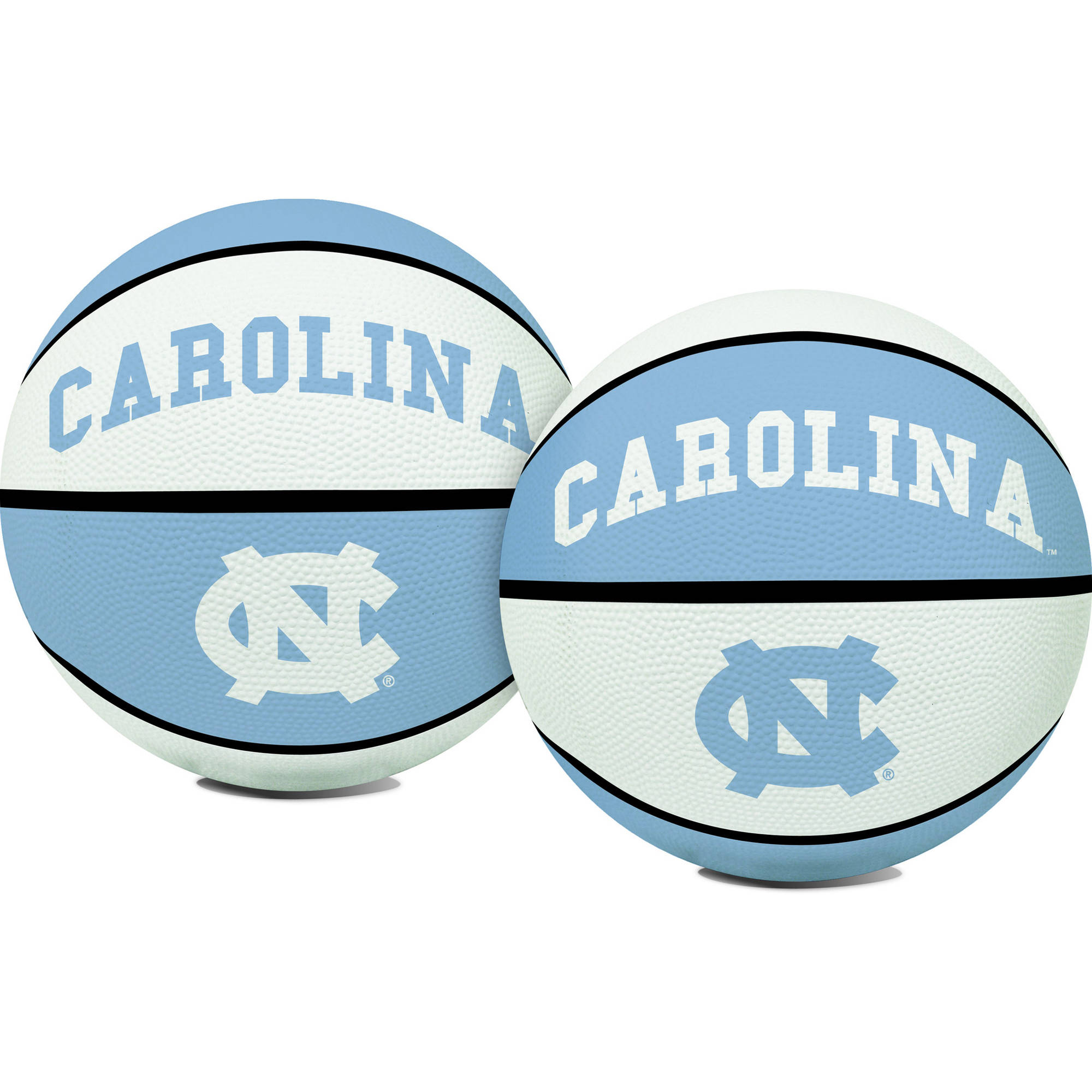Rawlings NCAA Crossover Full Size Basketball University Of North Carolina Tar Heels