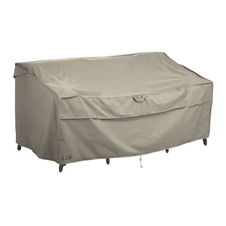 Classic Accessories Montlake™ FadeSafe® Deep Seated Patio Sofa Cover or Loveseat Cover - Water Resistant Outdoor Furniture Cover, Medium, 76