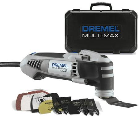 - Dremel MM40-05 3.8-Amp High Performance Oscillating 36 Piece Tool Kit