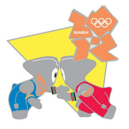London 2012 Olympics Wenlock Wrestling