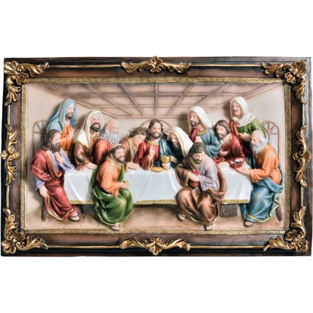 OK Lighting Last Supper Hanging Plaque - The Last Supper Club Halloween
