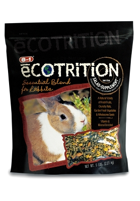 8-in-1 eCotrition Rabbit Food 5 lb EG2165 UPG- CA (ECOTRITION 8IN1) by Spectrum Brands