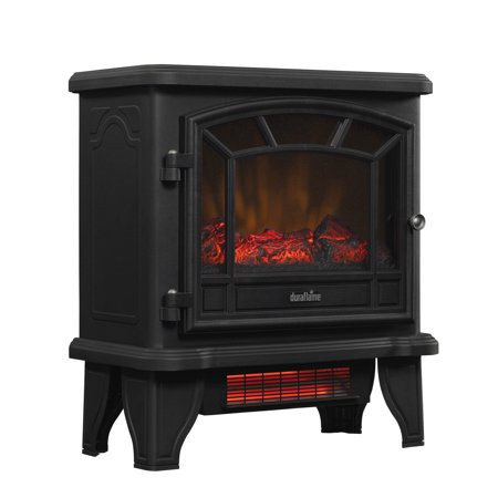 Duraflame Infrared Quartz Electric Fireplace Stove Heater with Remote