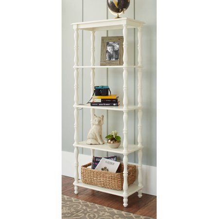 Better Homes And Gardens Adriana 4 Shelf Bookcase Ivory