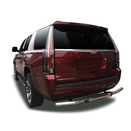 Broadfeet Rear Pintle Style Guard for 2015-2018 Chevrolet Tahoe / Suburban in Stainless (Chevrolet Tahoe Bumper)