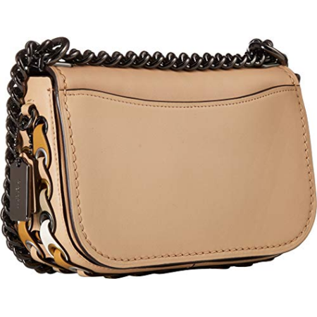 New COACH Swagger Mini Shoulder Bag 20 w Dark Antique
