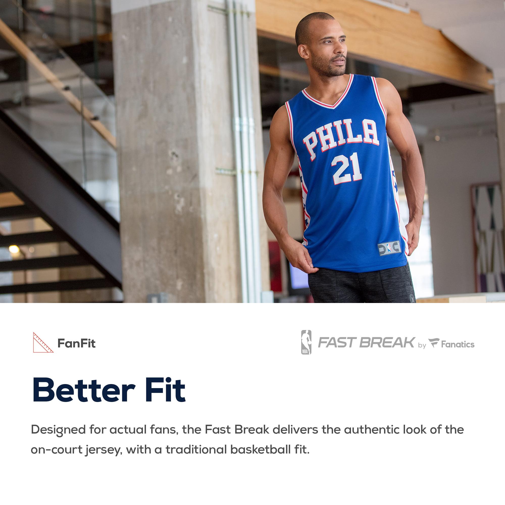 f8916d78e Joel Embiid Philadelphia 76ers Fanatics Branded Youth Fast Break Replica  Jersey Red - Statement Edition - Walmart.com