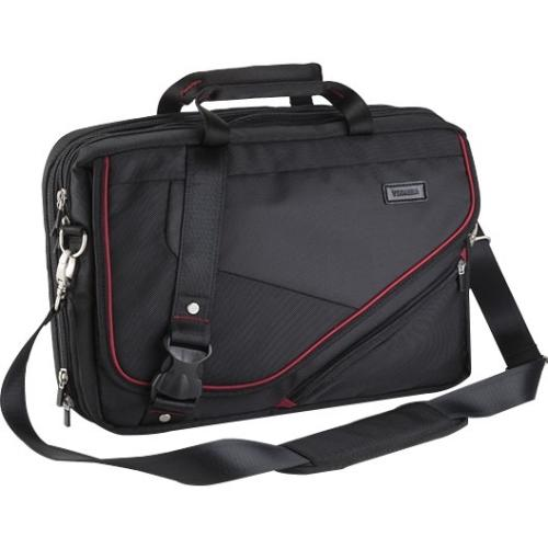 "Toshiba Envoy 2 Carrying Case [messenger] For 14"" Notebook, Chromebook - Scratch Resistant, Dent Resistant - Ballistic Polyester - Shoulder Strap, Trolley Strap, Handle (pa1572u-1mr4)"