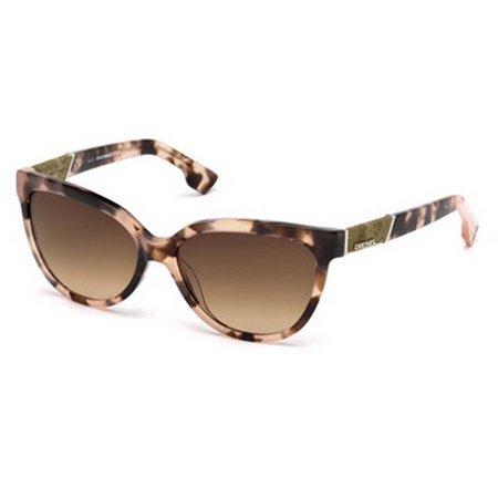 912097ba0424 Diesel - Diesel Eyewear DL0102 Colorful Havana Frame Brown Gradient Lens  Sunglasses - Walmart.com